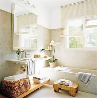 小清新浴室装饰图片