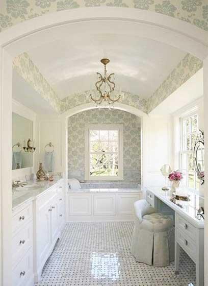 浴室梳妆台布置平面图