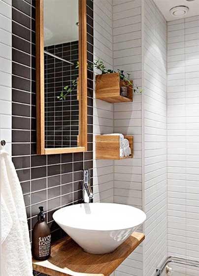 小户型浴室洗手池效果图