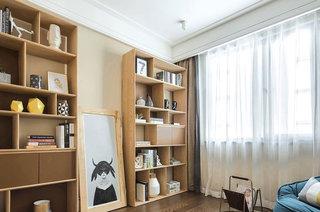 102平北欧风格样板房书房效果图
