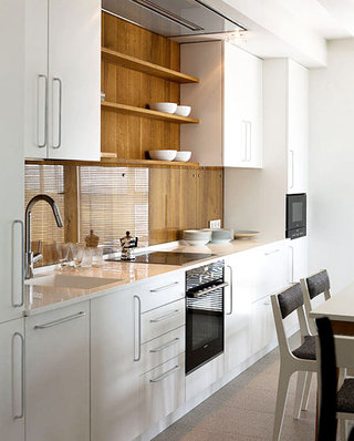白色厨房橱柜效果图设计