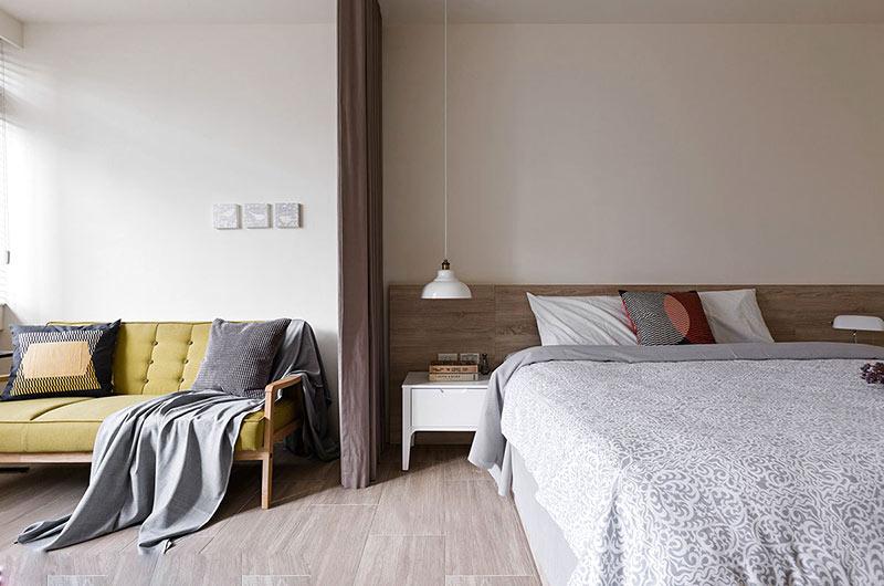 北欧风格复式楼主卧室设计图