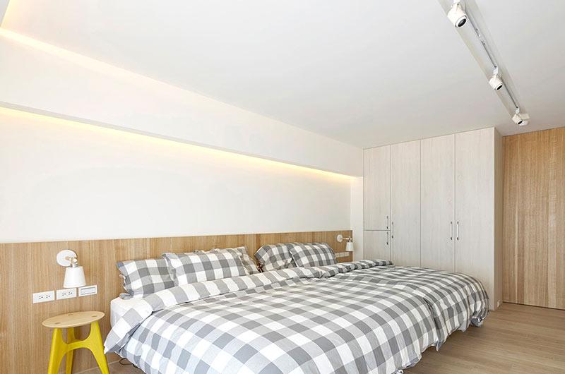 现代简约风格公寓卧室装修图