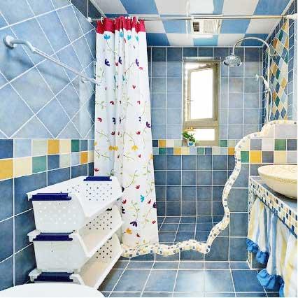 简约风浴室构造图片