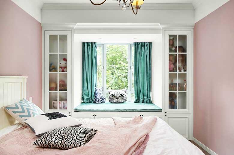 现代美式两居室儿童房装修图