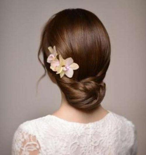 明星结婚发型图片2017 五款经典发型凸显新娘气质