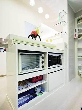 厨房收纳整体摆放图