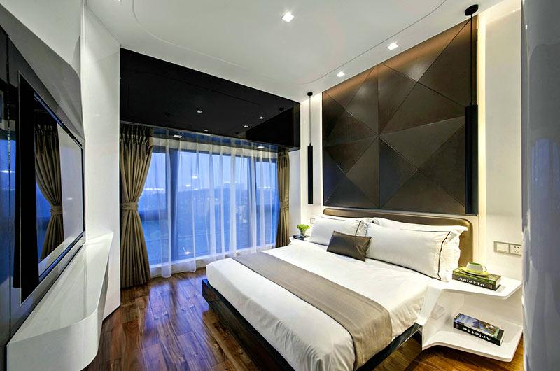 89平样板房装修卧室装修图片