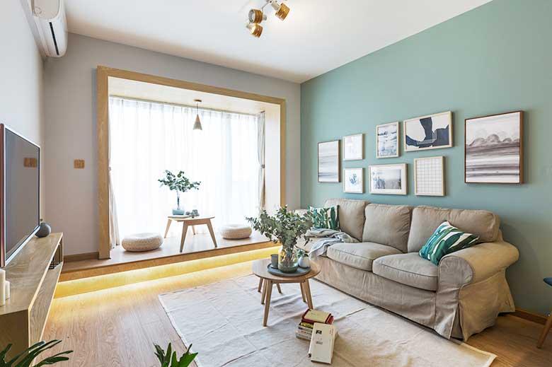 简约风单身公寓设计效果图