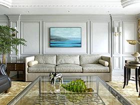 新古典风格两层楼房装修 惟精致可优雅