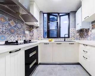 厨房小花砖装饰图片大全