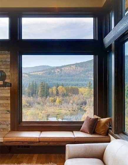 休闲飘窗布置平面图