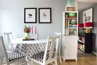 小户型餐厅餐桌桌布图片