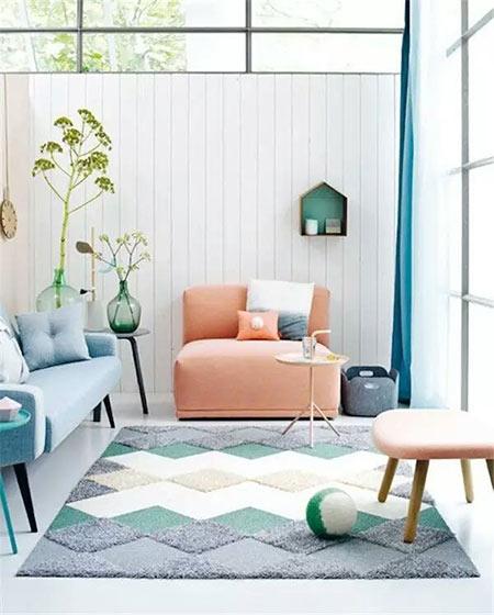 混搭风格客厅沙发双人沙发图片