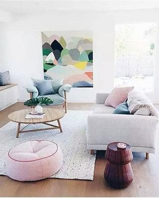 客厅装修混搭沙发设计图