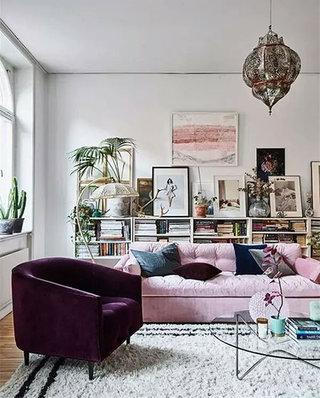 客厅设计布艺沙发图片