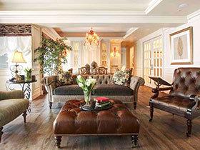 古典法式风格三居室装修 重塑浪漫神采