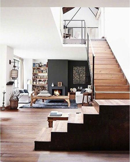 现代风loft公寓图片