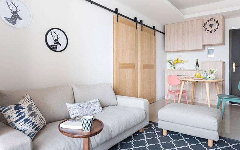 60平小户型装修沙发背景墙装修