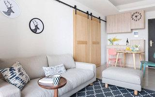 60平小户型公寓装修图 不拘一格做设计4/10