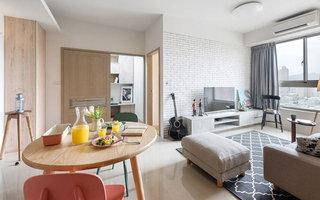 60平小户型公寓装修图 不拘一格做设计5/10