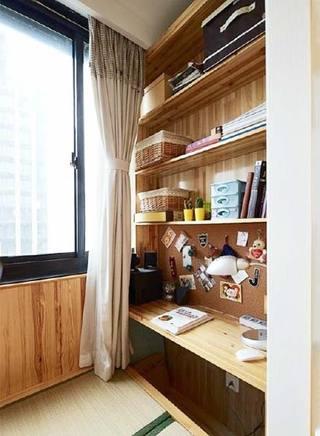 阳台改造书房设计图片