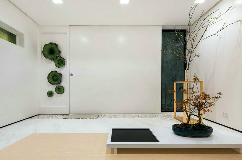 350平别墅装修入户门厅设计