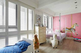 210平新古典风格装修儿童房装修