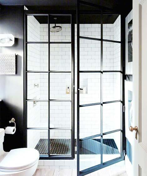 复古风卫生间装修装饰效果图