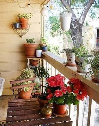 阳台花园设计图片大全