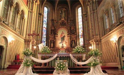 欧式婚礼图片 欧式婚礼现场布置注意要点