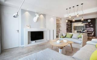 80㎡北欧风单身公寓图片