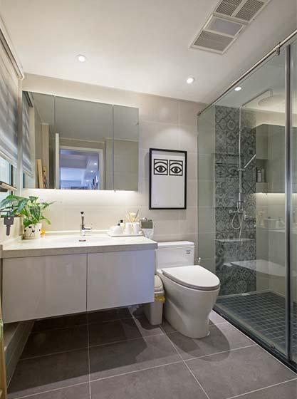 北欧风单身公寓卫生间图片大全