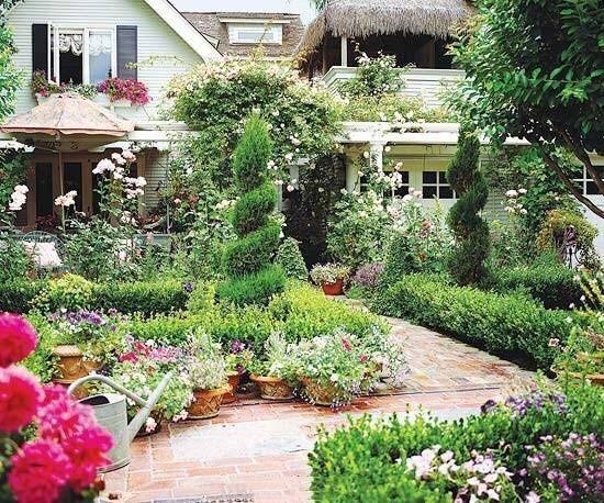 别墅花园装修装饰效果图