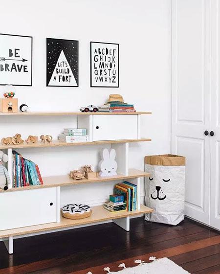 小户型儿童房装修收纳图片