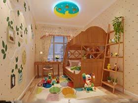 10款儿童房背景墙设计图  多彩童年