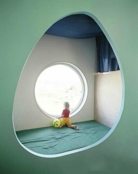 儿童房背景墙设计平面图