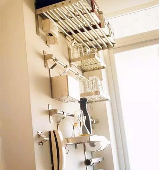 厨房收纳装修装饰图片