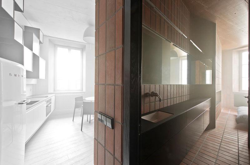 45平小户型公寓隔断效果图