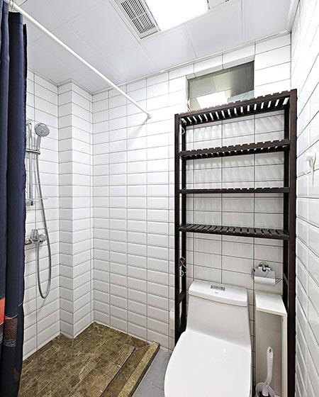 55平小两室装修卫生间装修图