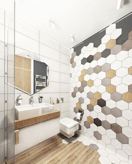 卫生间墙面瓷砖效果图