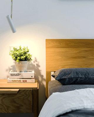 99平北欧风格二居卧室木质床头柜