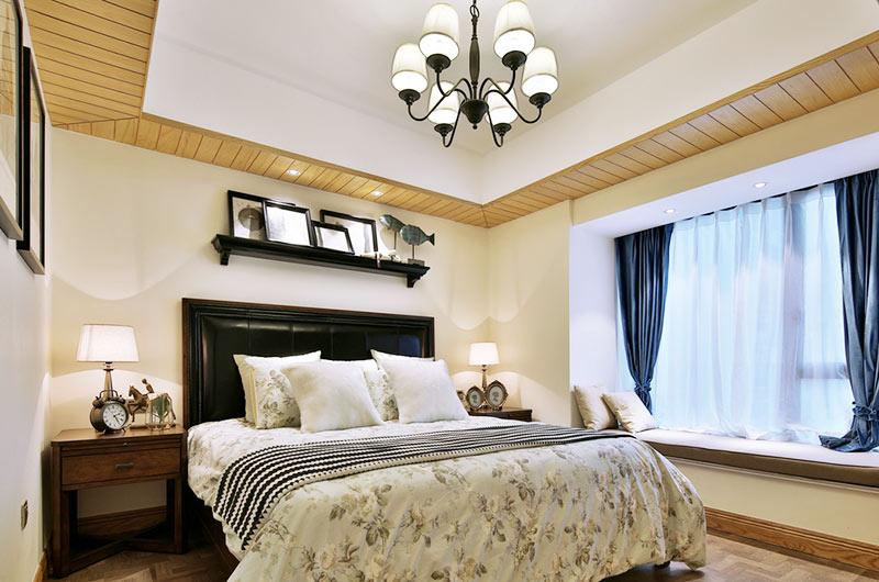 130平法式风格四居卧室设计