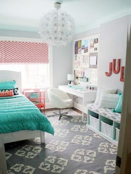 卧室书房布置摆放图
