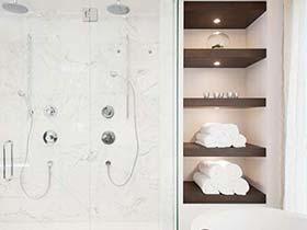 空间小巧收纳   10款卫生间收纳装修图片