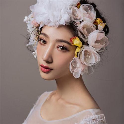 创意新娘妆整体造型图片 5款百变潮流造型任你选图片