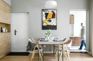 95平北欧风格二居餐厅效果图