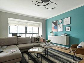 95平北欧风格两室两厅装修 慢享舒心小时光