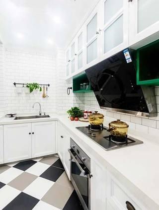 厨房搭配装修摆放图