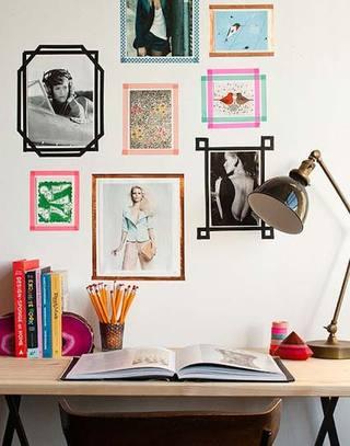照片墙搭配装修装饰图